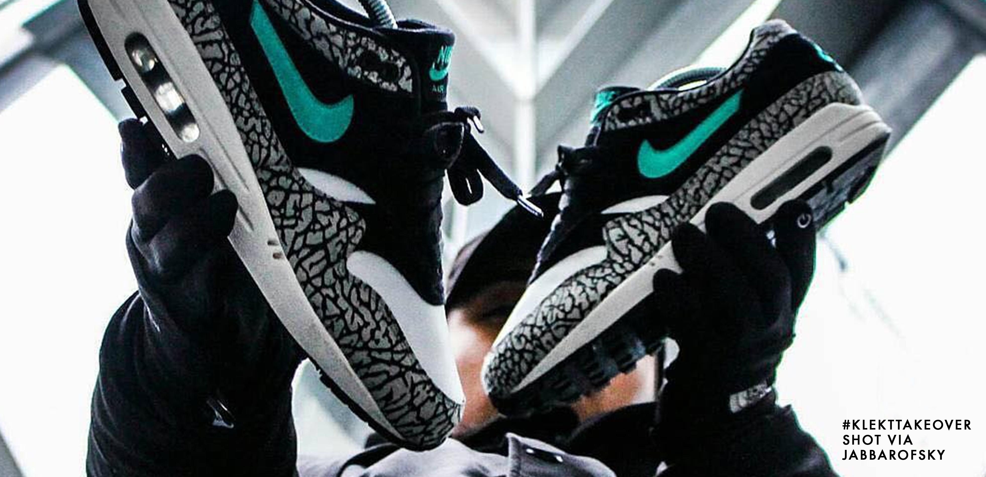 Atmos x Nike Air Max 1 'Elephant'